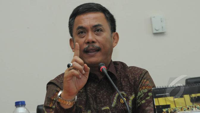 Ketua DPRD DKI Jakarta Prasetio Edi Marsudi. (Liputan6.com/Herman Zakharia)