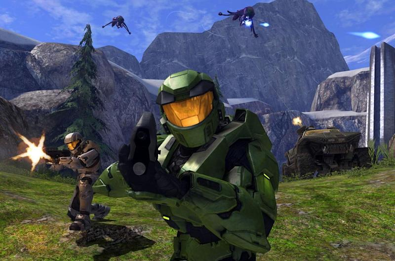 The History of the Xbox Halo Combat Evolved ss1