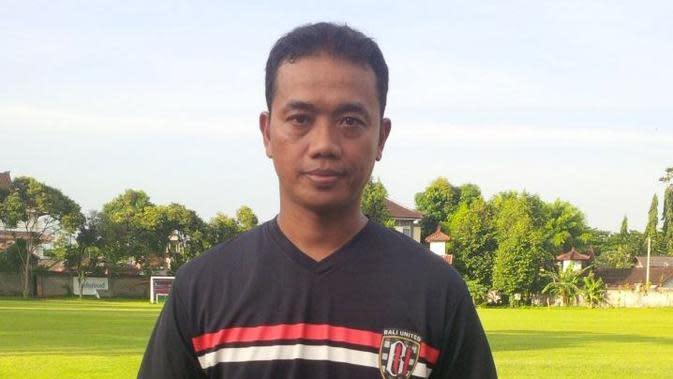 Asisten Pelatih Bali United Eko Purjianto (Liputan6.com / Dewi Divianta)