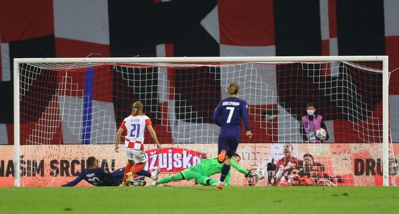 Mbappe strike gives France 2-1 win in Croatia