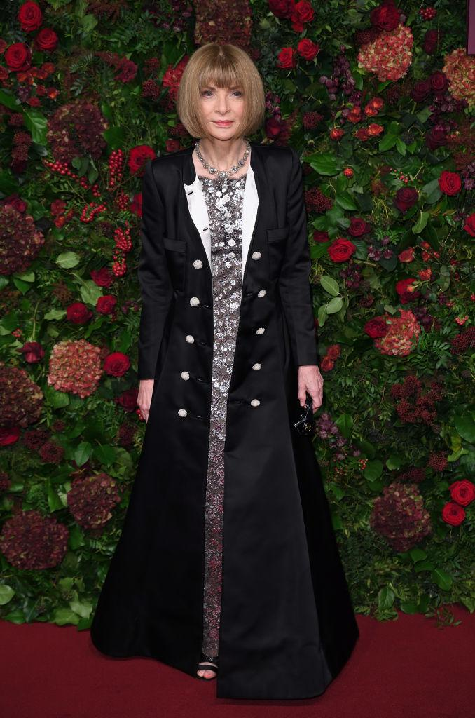 Vogue editor-in-chief Anna Wintour has acknowledged and apologized for 'hurtful' past race-related 'mistakes' at the magazine. (Photo by Karwai Tang/WireImage)
