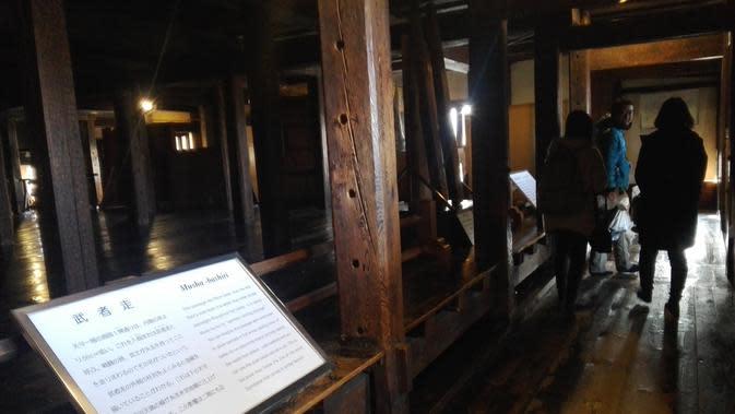 Pemerintah Jepang menyematkan Kastil Matsumoto sebagai aset penting negara karena orisnalitas dan bukti-bukti sejarah yang masih tersimpan di kastil tersebut (Andry Haryanto/Liputan6.com)