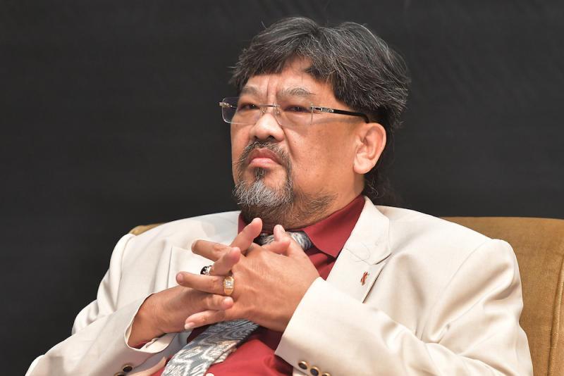 Professor Jayum Anak Jawan at the IDEAS 4th Liberalism Conference in Kuala Lumpur October 19, 2019. — Picture by Miera Zulyana