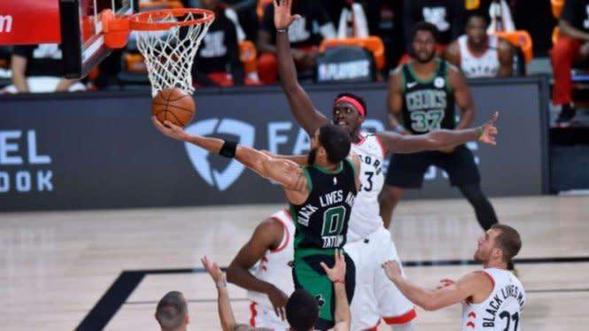 Drama Sengit di Game 7, Celtics Depak Juara Bertahan Toronto Raptors