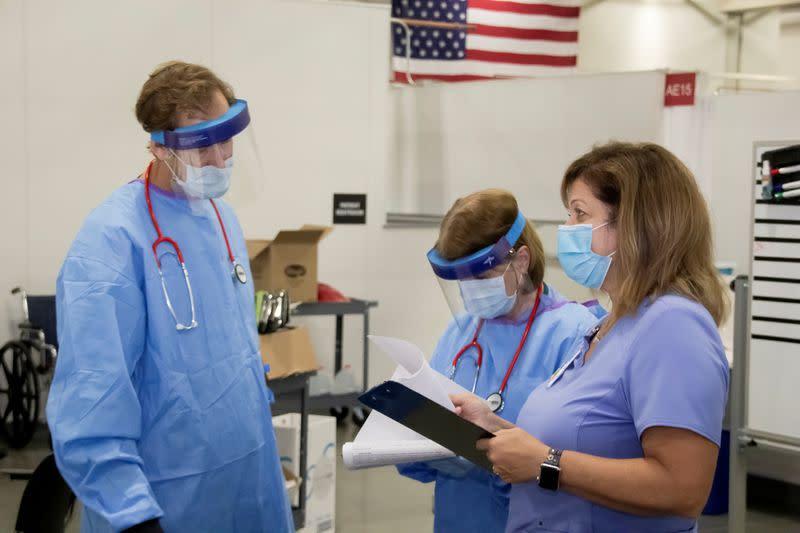 U.S. coronavirus cases surpass eight million as infections spike nationwide