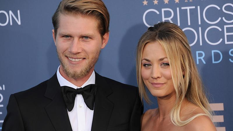 Kaley Cuoco and Karl Cook may have married over a year ago, but they still don't live together. Photo: Getty Images