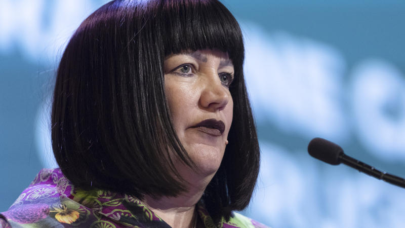 Raelene Castle, pictured, has announced a massive move to make rugby more accessible for the LGBTI community.