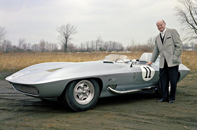 April 18: Bill Mitchell's Corvette Stingray Racer concept first hit the track on this date in 1959