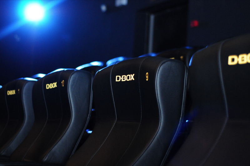 Heart-pumping action scenes are amped up with D-BOX's seat motion technology. — Picture courtesy of GSC