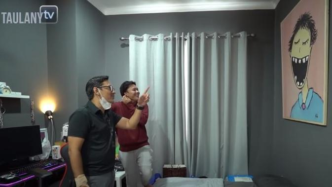 Kamar Rizky Febian. (YouTube Taulany TV via Brilio)