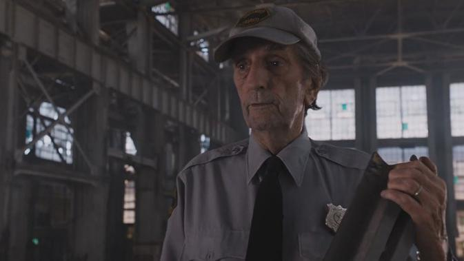 Aktor Harry Dean Stanton dalam film The Avengers. (Marvel Studios)