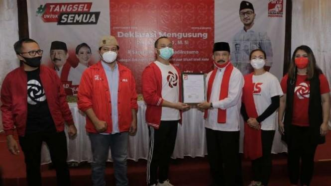 PSI Dukung Keponakan Prabowo di Pilkada Tangsel