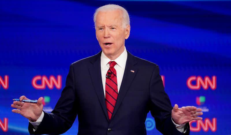 'It's not about you': Democrats bet Trump coronavirus response a 2020 winner for Biden