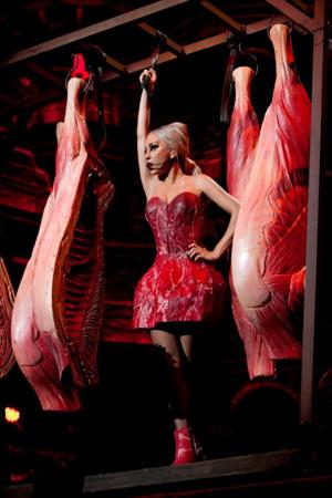 Lady Gaga's Meat Dress Comeback In Tokyo!