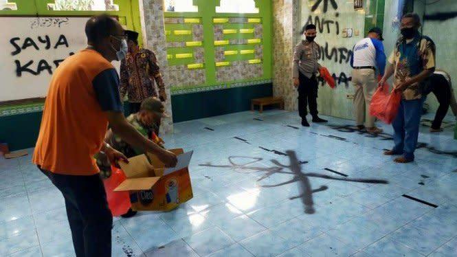 Ini Motif Pelaku Vandalisme di Musala Tangerang