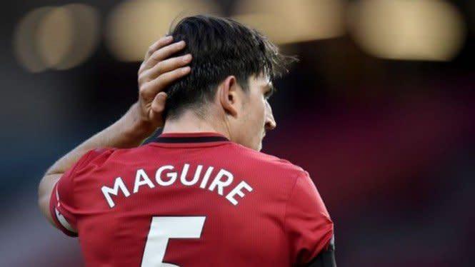 Newcastle Vs MU, Harry Maguire Bisa Jadi Tambah Derita Setan Merah