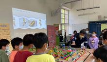 微型積木模擬用路危機 北市將交安議題融入課程教學