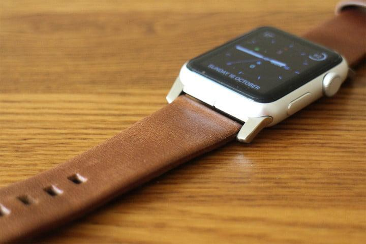 best Apple Watch bands Nomad Leather Strap top
