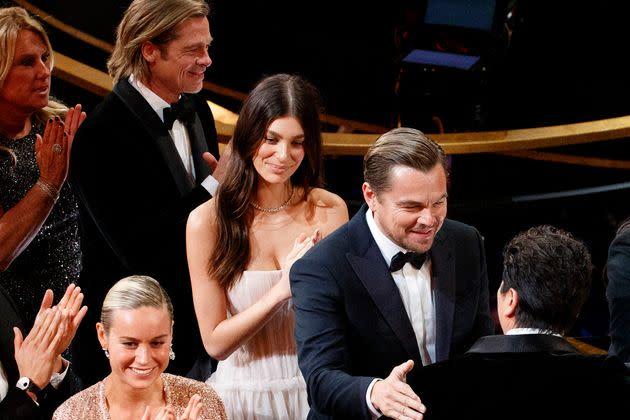 Leonardo DiCaprio et Camila Morrone aux Oscars, le 9 février 2020