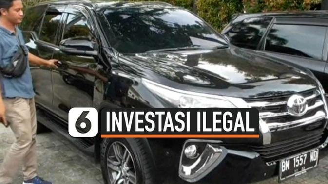VIDEO: Investasi Ilegal, Polisi Sita Fortuner Pejabat Kemenkumham