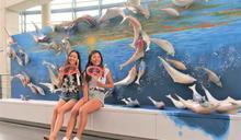 陶博館夏日泥巴藝術季 66隻白海豚成網美聖地