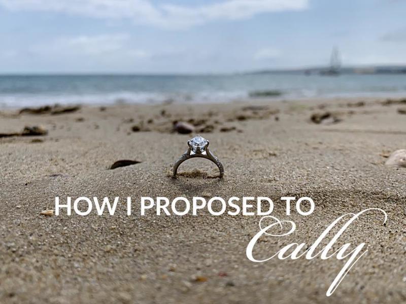 Edi Okoro's proposal story