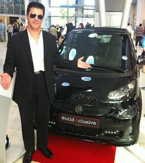 Simon Cowell looking to sell his Brabus Smart convertible