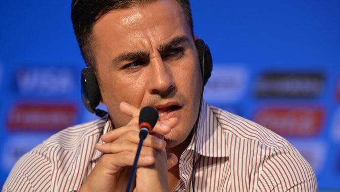 Fabio Cannavaro. (Nelson Almeida/AFP)