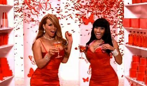 Nicki Minaj/Mariah Carey 'Idol' Catfight Caught On Video