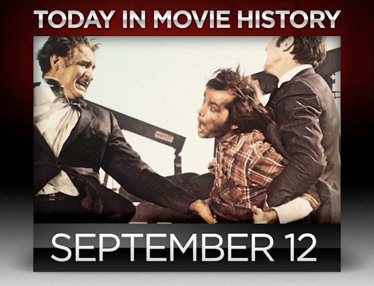 today in movie history, september 12