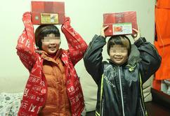 年菜與傳愛紅包讓貧童有溫暖新年