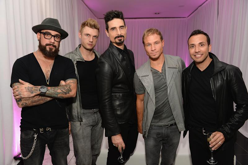 The Backstreet Boys are returning to Australia for the first time since 2015. Photo: Getty Images