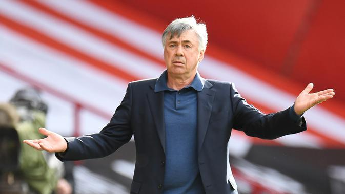 Carlo Ancelotti. (AFP/Peter Powell/pool)