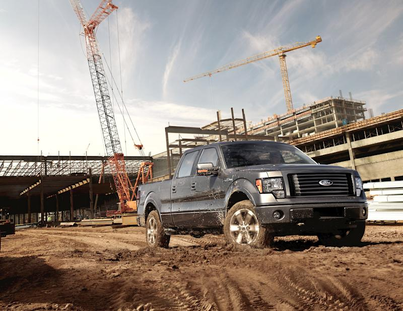 Ford F-150 named Motor Trend 2012 Truck of the Year