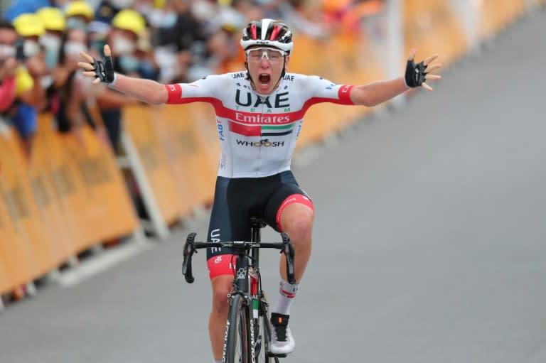 Roglic takes Tour lead as Pogacar grabs stage