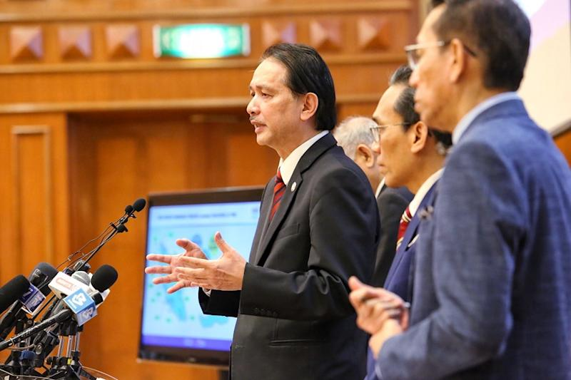 Health director-general Datuk Dr Noor Hisham Abdullah speaks at a press conference in Putrajaya June 24, 2020. — Picture by Choo Choy May