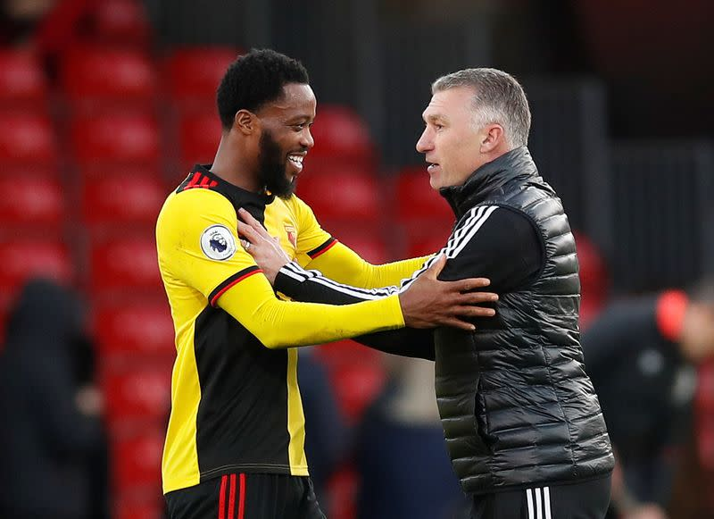 Pearson warns 'job not done' as Watford escape relegation zone