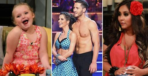 Honey Boo Boo / Kelly Monaco and Valentin Chmerkovskiy / Snooki -- Access Hollywood
