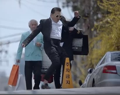 Psy's 'Gentleman' Video Ties for a Huge Record, Banned by South Korean Broadcaster