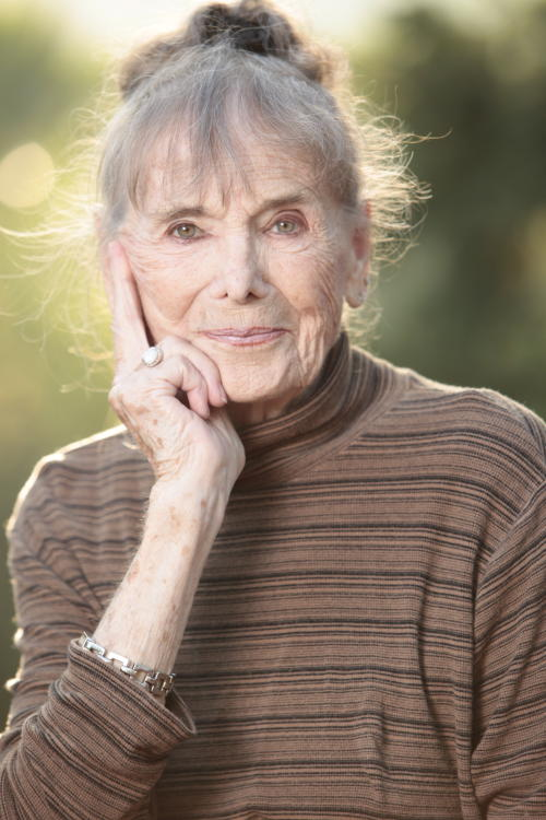 "This film image released by Music Box Films shows Besedka Johnson, in a promotional portrait for the film ""Starlet."" Johnson, who became an actress at age 85 and won praise for last year's movie ""Starlet,"" died on April 4 at Glendale Memorial Hospital of complications following surgery for a bacterial infection, her son, Jim Johnson, told the Los Angeles Times. Besedka Johnson played the cranky widow Sadie, who befriends a character played by Dree Hemingway in last year's movie. It was her only role. She was 87. (AP Photo/Music Box Films, Augusta Quirk)"