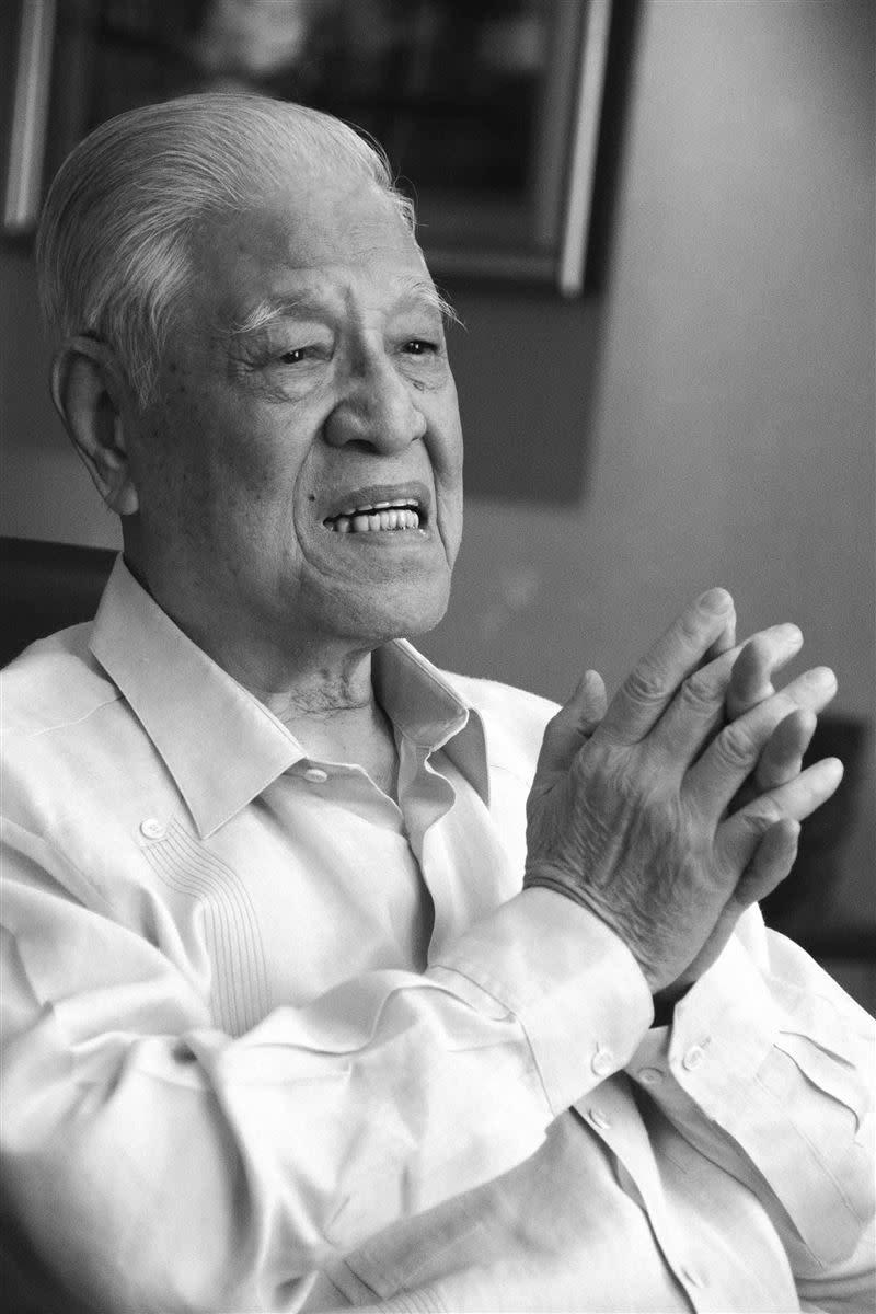 臺灣民主之父李登輝愛讀書,看人看事眼光透徹 。(圖/大都會文化提供 淺岡敬史 攝)