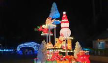 屏東聖誕節將登場 縣府籲民眾愛護燈飾 (圖)