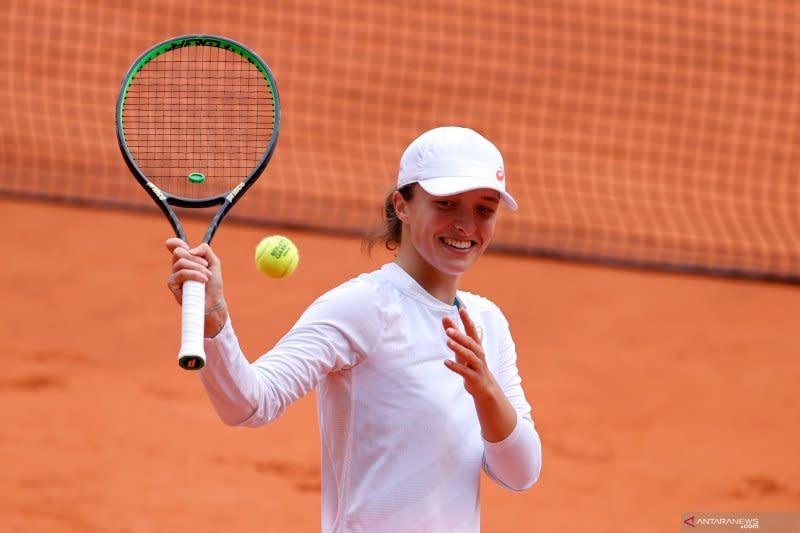 Swiatek capai final putri French Open, termuda dalam 19 tahun terakhir