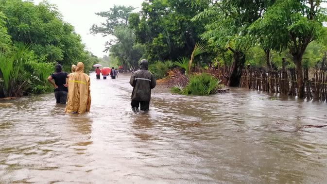 Banjir di Sumba Timur. (Foto: Dok BNPB)