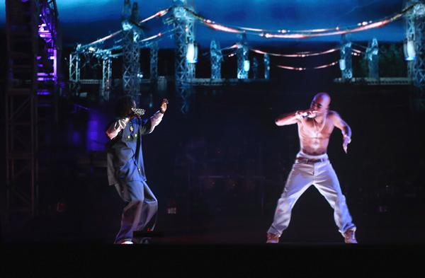 Tupac's Mother 'Positively Thrilled' By Coachella Hologram