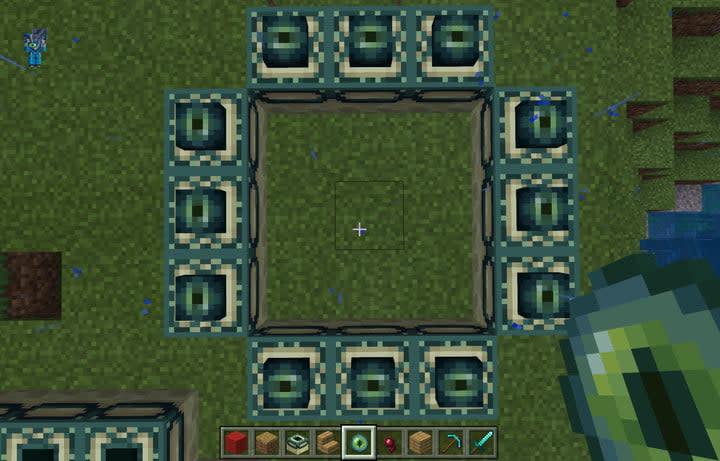 Minecraft Broken End Portal