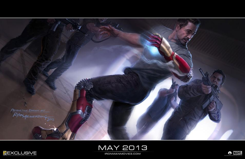 Iron Man 3 Art