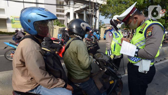 Dua Wilayah Jakarta Ini Catat Angka Tilang Tertinggi