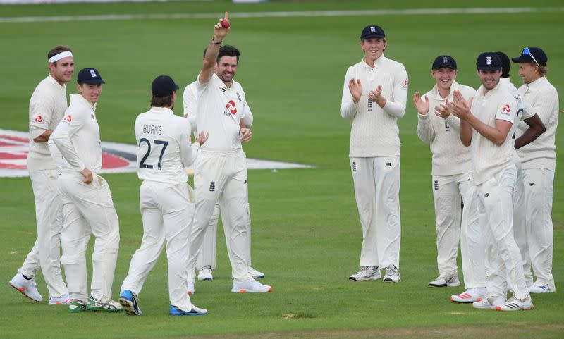 England's Anderson gets milestone 600th wicket but third test drawn