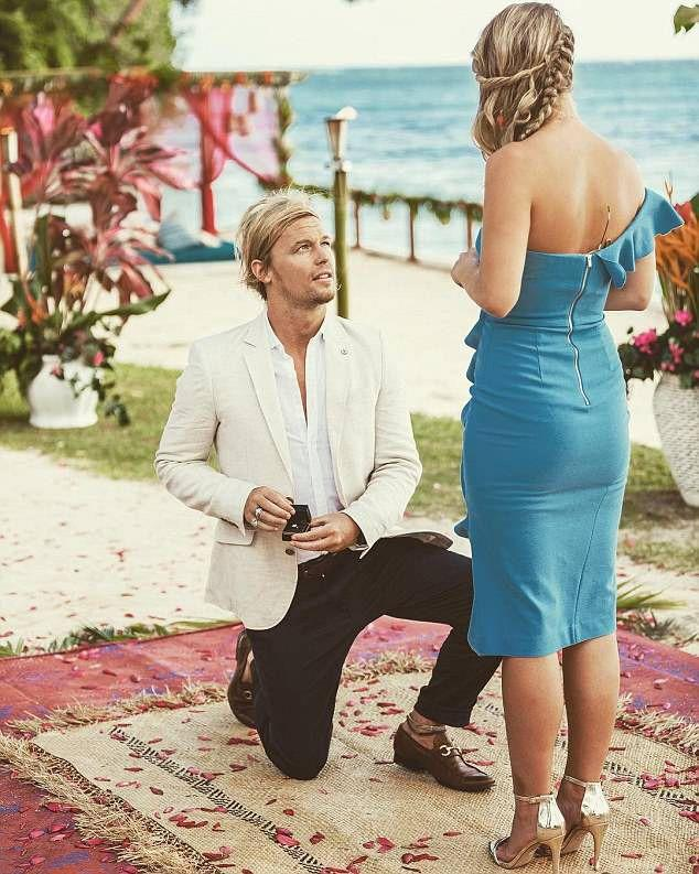 Sam Cochrane and Tara Pavlovic engaged on Bachelor in Paradise